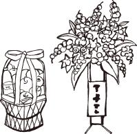 供花・供物などに関するマナー